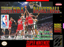 Tecmo Super NBA Basketball Nintendo Super NES cover artwork