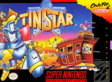 Tin Star Nintendo Super NES cover artwork