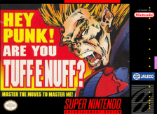 Tuff E Nuff Nintendo Super NES cover artwork