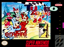 Turbo Toons Nintendo Super NES cover artwork
