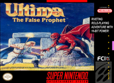 Ultima VI - The False Prophet Nintendo Super NES cover artwork