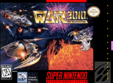 War 3010 - The Revolution Nintendo Super NES cover artwork
