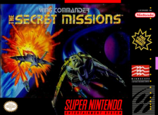 Wing Commander - The Secret Missions Nintendo Super NES cover artwork