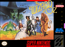 Wizard of Oz, The Nintendo Super NES cover artwork