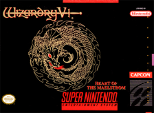 Wizardry V - Heart of the Maelstrom Nintendo Super NES cover artwork