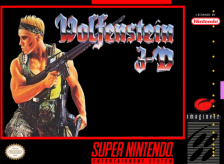 Wolfenstein 3D Nintendo Super NES cover artwork