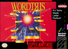 Wordtris Nintendo Super NES cover artwork
