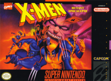 X-Men - Mutant Apocalypse Nintendo Super NES cover artwork