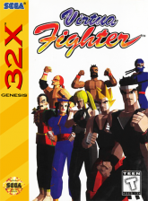Virtua Fighter Sega 32X cover artwork