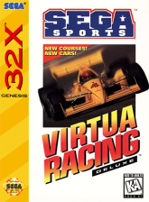 Virtua Racing Deluxe Sega 32X cover artwork