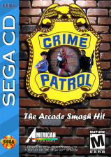 Crime Patrol Sega CD cover artwork