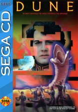 Dune Sega CD cover artwork