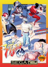 Final Fight CD Sega CD cover artwork