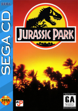 Jurassic Park Sega CD cover artwork