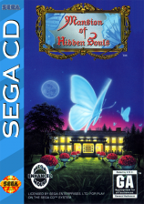 Mansion of Hidden Souls Sega CD cover artwork