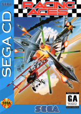 Racing Aces Sega CD cover artwork