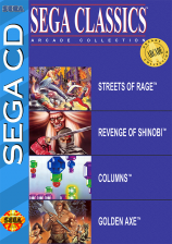 Sega Classics - 4-in-1 Sega CD cover artwork
