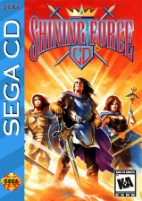 Shining Force CD Sega CD cover artwork