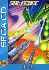 Sol-Feace Sega CD cover artwork