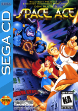 Space Ace Sega CD cover artwork