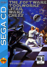 Star Wars Chess Sega CD cover artwork