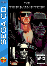 Terminator, The Sega CD cover artwork