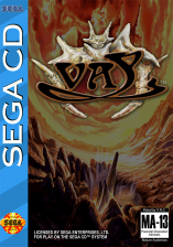 Vay Sega CD cover artwork