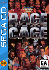WWF Rage in the Cage Sega CD cover artwork