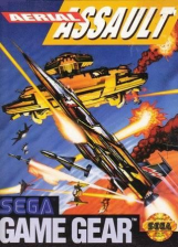 Aerial Assault Sega Game Gear cover artwork
