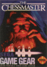 Chessmaster, The Sega Game Gear cover artwork