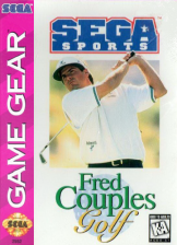 Fred Couples' Golf Sega Game Gear cover artwork