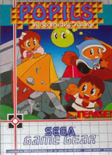 Magical Puzzle Popils Sega Game Gear cover artwork