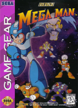 Mega Man Sega Game Gear cover artwork