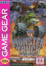 Monster Truck Wars Sega Game Gear cover artwork