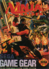 Ninja Gaiden Sega Game Gear cover artwork