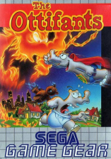 Ottifants, The Sega Game Gear cover artwork