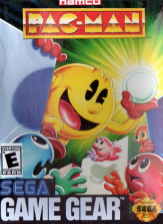 Pac-Man Sega Game Gear cover artwork