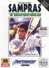 Pete Sampras Tennis Sega Game Gear cover artwork