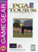 PGA Tour 96 Sega Game Gear cover artwork
