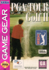 PGA Tour Golf II Sega Game Gear cover artwork