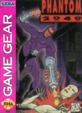 Phantom 2040 Sega Game Gear cover artwork