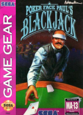 Poker Faced Paul's Blackjack Sega Game Gear cover artwork