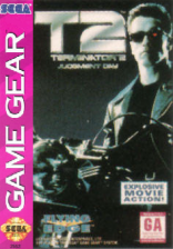 Terminator 2 - Judgment Day Sega Game Gear cover artwork