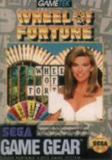 Wheel of Fortune Sega Game Gear cover artwork
