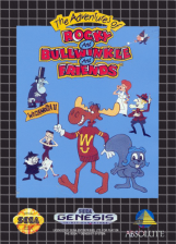 Adventures of Rocky and Bullwinkle and Friends, The Sega Genesis cover artwork