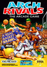 Arch Rivals - The Arcade Game Sega Genesis cover artwork