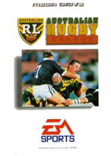 Australian Rugby League Sega Genesis cover artwork