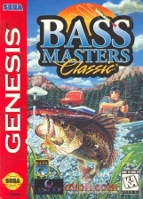 Bass Masters Classic Sega Genesis cover artwork