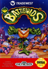 Battletoads Sega Genesis cover artwork