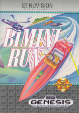 Bimini Run Sega Genesis cover artwork
